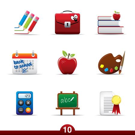 Icon series - education Illustration