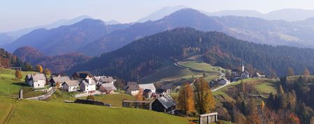 slovenian: Slovenian panorama...Sorica