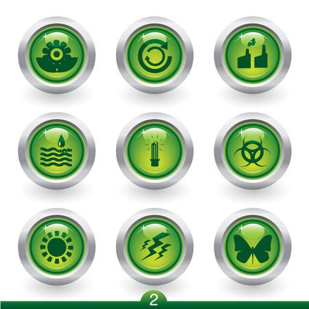 riesgo biologico: Entorno icono serie 2