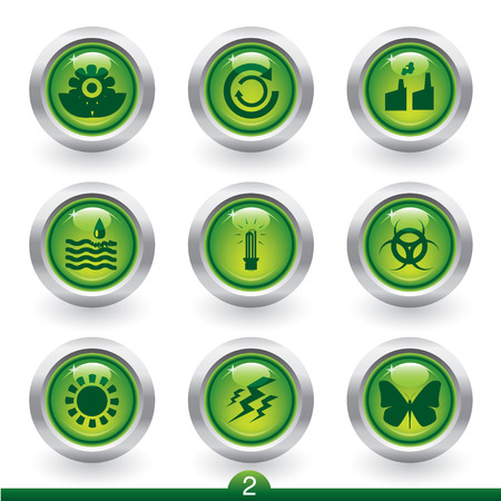 Environment icon series 2 Stock Vector - 6350761
