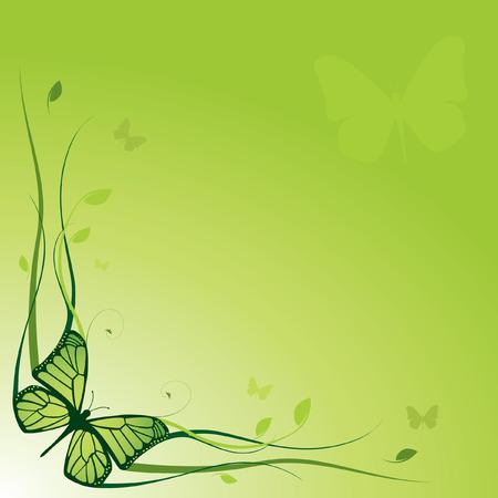 Elegant floral background