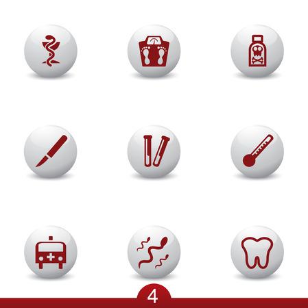 neurologist: Medical icon series 4