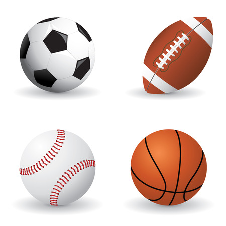 Sports ball set Stock Vector - 6529812