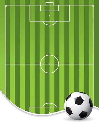 uefa: Fu�ball-Hintergrund Illustration