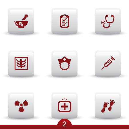 Medical icon series 2 Stock Vector - 6578494
