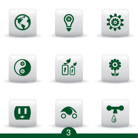 Ecology icon series 3 Vector
