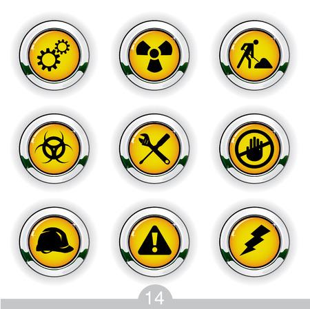 Construction icons series no.14 Stock Vector - 7000983