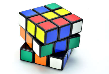 adult toys: Rubiks cube Editorial