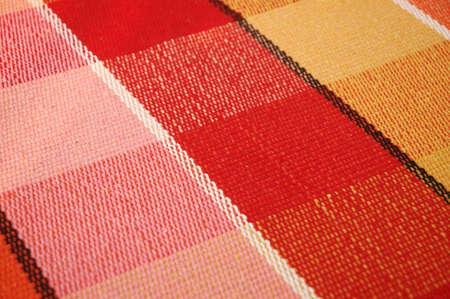 floor mats: Coloured cotton mat