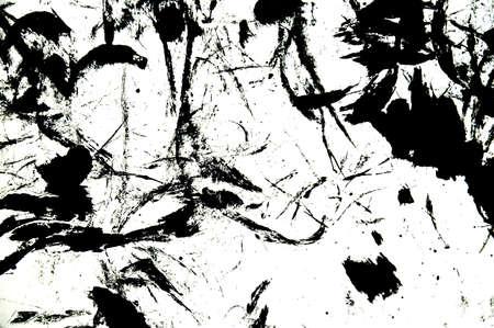 black ink: Graffiti black ink