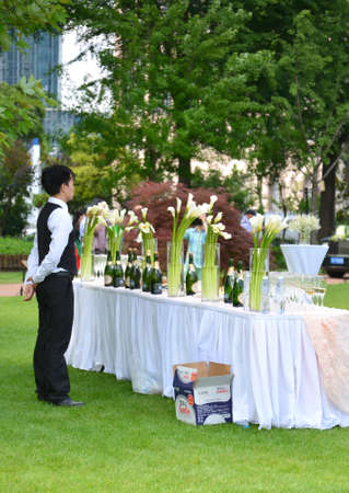 site preparation: Outdoor party events