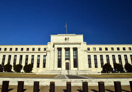 monetary policy: Federal Reserve building positive