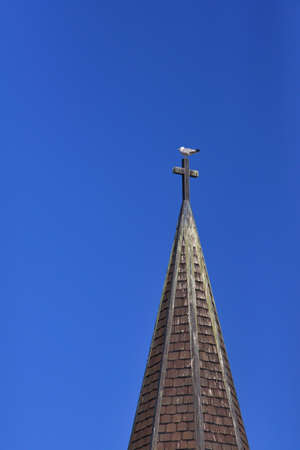 spires: Church spires and the Dove