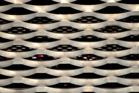 metal mesh: Metal mesh shades
