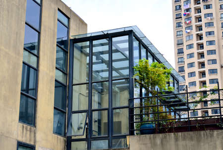commercial real estate: building Editorial