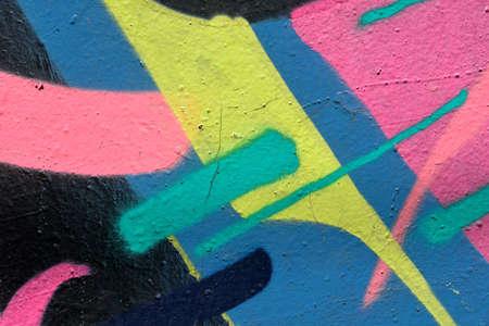 to shading: Color shading graffiti