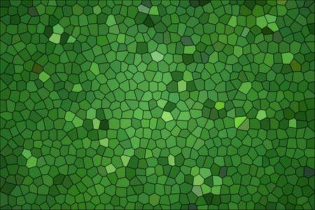 to shading: Green shading glass mosaic