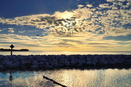 lakeside: lakeside scenery Stock Photo