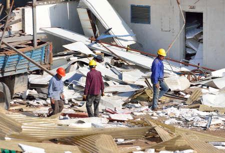 site: Demolition site Editorial