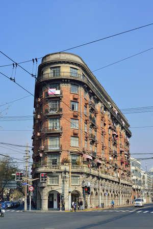 concession: Shanghai Wu Kang building