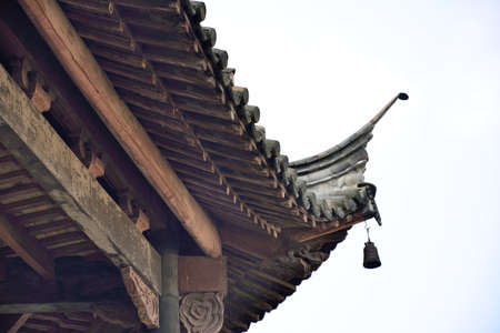 Feature of ancient buildings in China