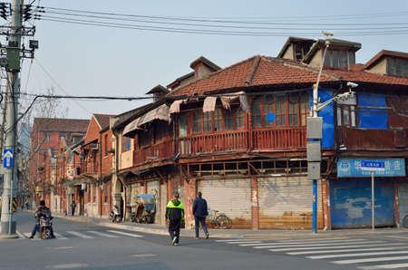 turbidity: Shanghai alley Street Editorial