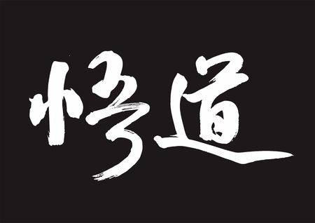 Chinese Calligraphy Handwritten Font - Enlightenment