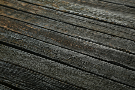 laths: Old blue wooden background