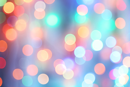 Bokeh lights background photo