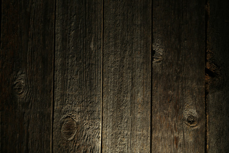 laths: Old grey wooden background
