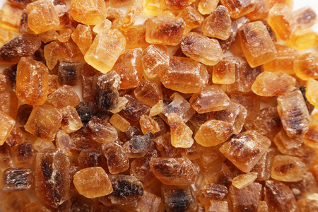 caramelized: Brown caramelized sugar background
