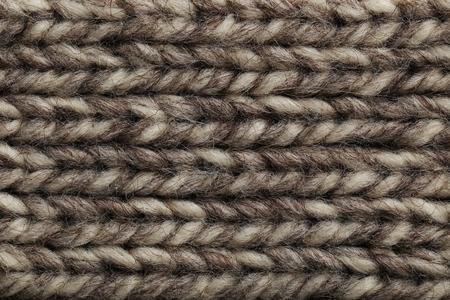 tejido de lana: Fondo hecho punto tejido de lana, de cerca