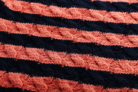 woolen: Knitted woolen fabric background, close up