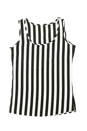 singlet: New singlet isolated on a white