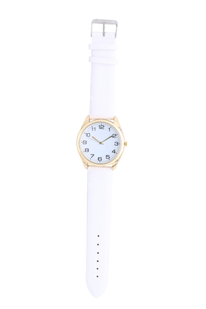 Wrist watch isolated on white background Stock Photo