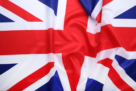Hintergrund der britischen Flagge Standard-Bild