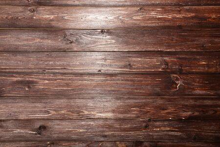 Viejo fondo de textura de madera marrón Foto de archivo
