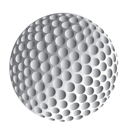 golf tee: Golfball