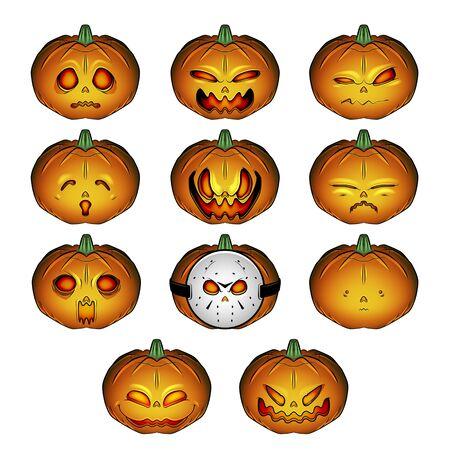 Halloween Pumpkin Jack-o-lantern emoji
