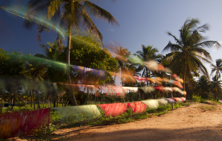 Mozambique Colors Blowing in the Wind photo