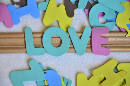 word love 写真素材