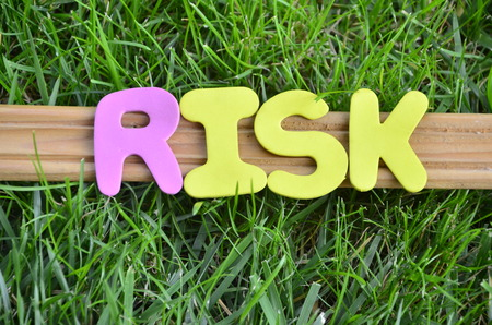 word risk Stok Fotoğraf