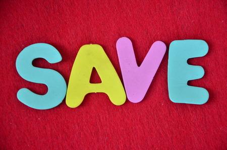 word save Archivio Fotografico - 101227124