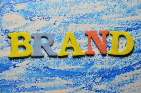 word brand Stok Fotoğraf