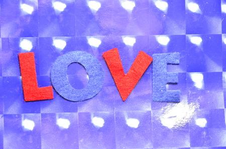 word love Banco de Imagens