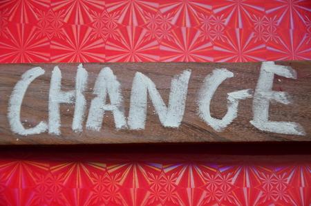 word change