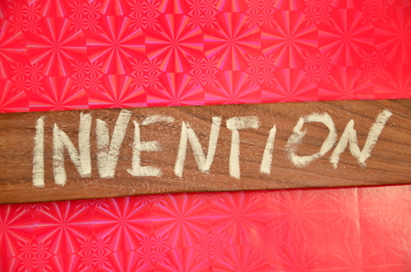 word invention Stock Photo