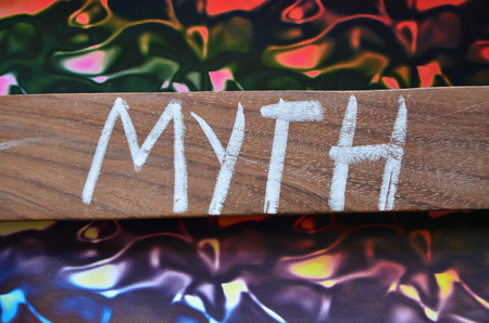 word myth Archivio Fotografico