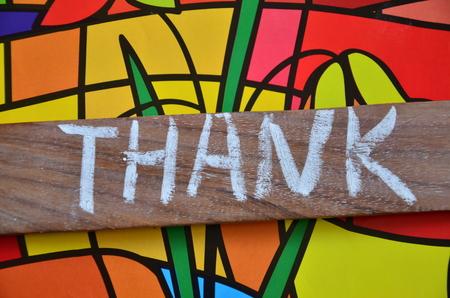 word thank