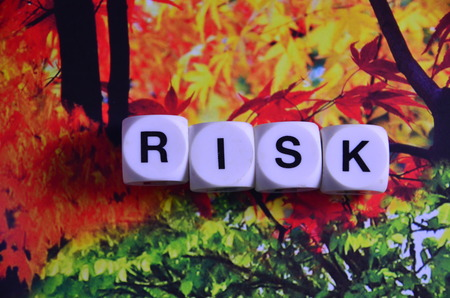 word risk Stockfoto